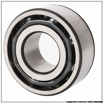 30 mm x 62 mm x 24 mm  PFI PW30620024/16CS angular contact ball bearings