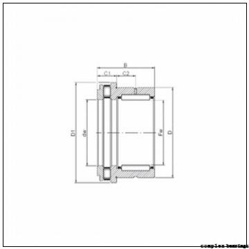 20 mm x 52 mm x 10 mm  INA ZARN2052-TV complex bearings