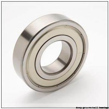 6 mm x 17 mm x 6 mm  ISB F606ZZ deep groove ball bearings