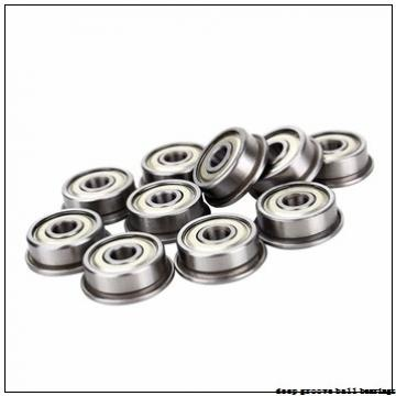 9,525 mm x 28,575 mm x 9,525 mm  FBJ 1614 deep groove ball bearings