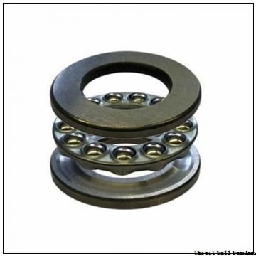 25 mm x 80 mm x 37 mm  NKE 52407 thrust ball bearings