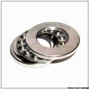 50 mm x 110 mm x 15 mm  ISB 52312 thrust ball bearings