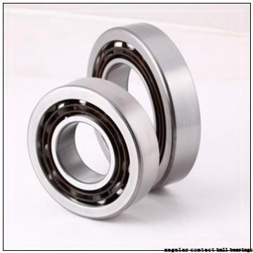 60 mm x 130 mm x 31 mm  FBJ 7312B angular contact ball bearings