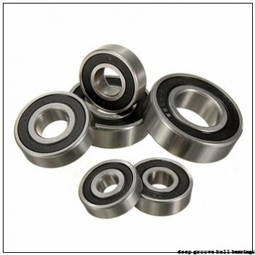 80 mm x 170 mm x 39 mm  NACHI 6316N deep groove ball bearings
