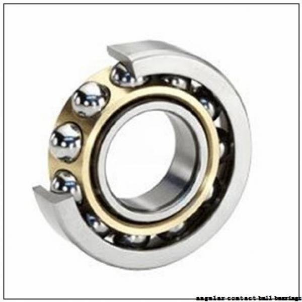 30 mm x 62 mm x 16 mm  NSK QJ206 angular contact ball bearings #1 image