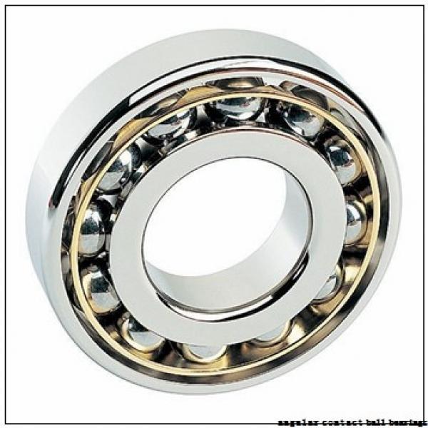 35 mm x 100 mm x 25 mm  ISO 7407 B angular contact ball bearings #1 image