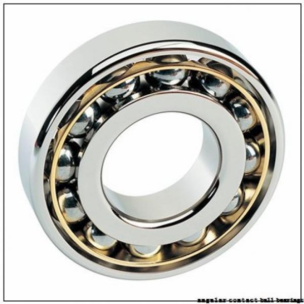 25 mm x 52 mm x 20,6 mm  ZEN S5205-2RS angular contact ball bearings #1 image