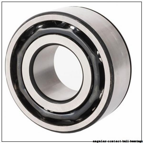 10 mm x 26 mm x 8 mm  FAG B7000-C-T-P4S angular contact ball bearings #1 image