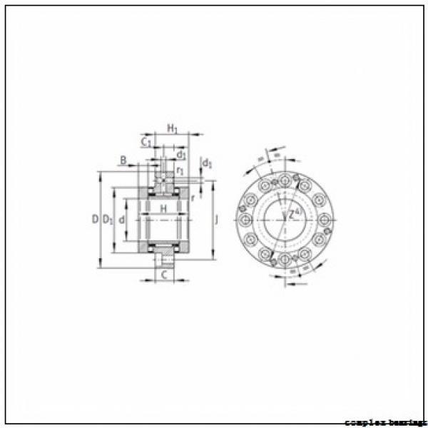 35 mm x 70 mm x 11 mm  NBS ZARN 3570 L TN complex bearings #3 image