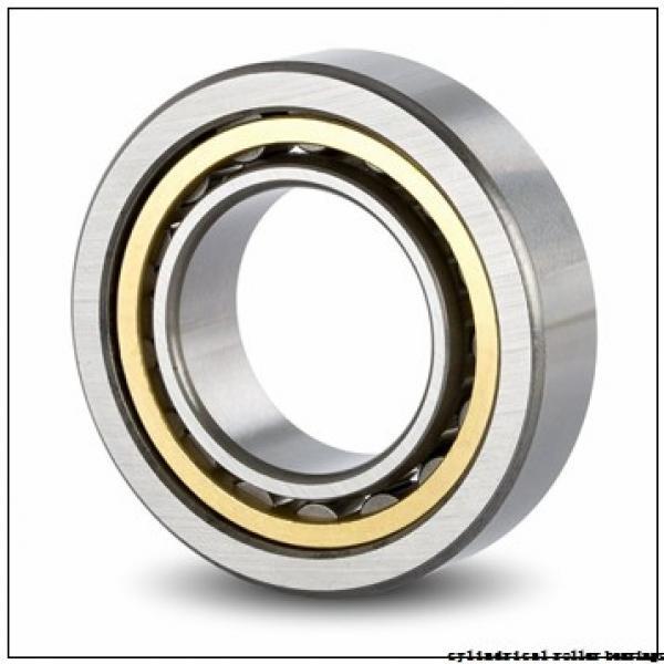 90 mm x 190 mm x 43 mm  NKE NUP318-E-TVP3 cylindrical roller bearings #1 image