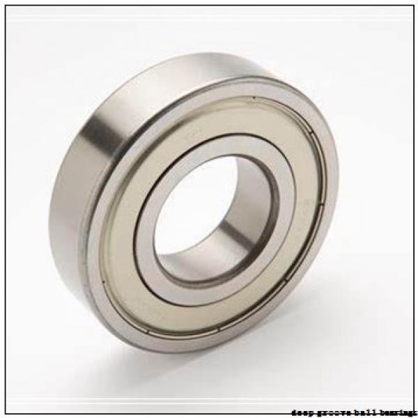 2,5 mm x 7 mm x 2,5 mm  ISO 692X deep groove ball bearings #1 image