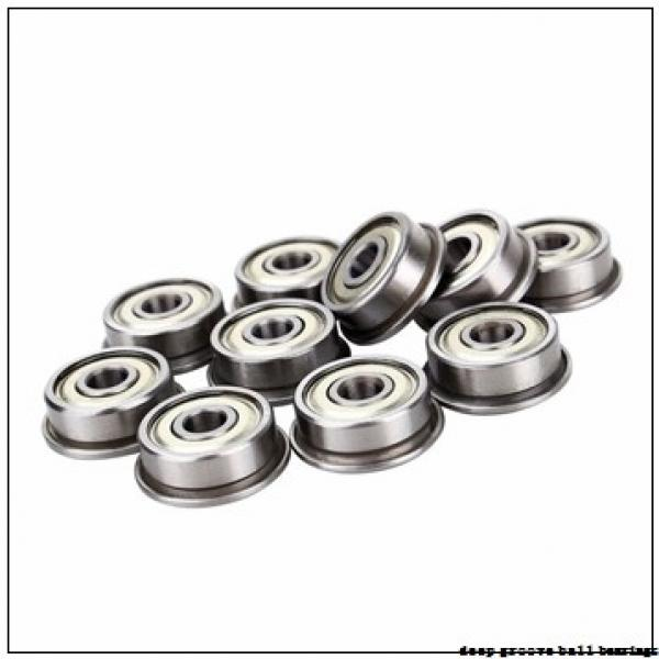 1 mm x 4 mm x 1,6 mm  ISO 619/1 deep groove ball bearings #2 image