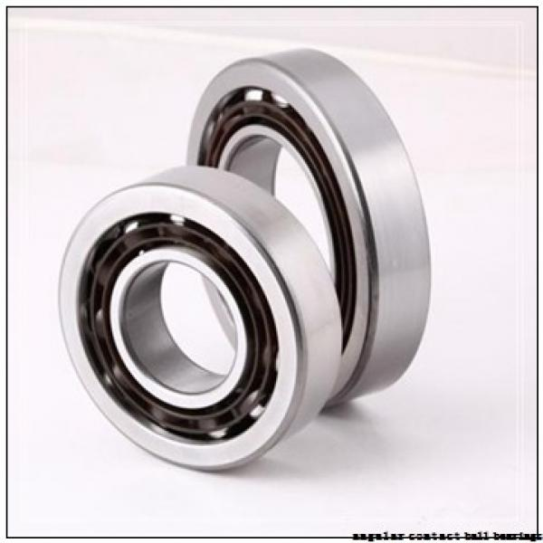 25 mm x 52 mm x 20,6 mm  ZEN S5205-2RS angular contact ball bearings #2 image