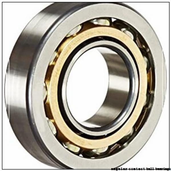 35 mm x 66 mm x 32 mm  Fersa F16022 angular contact ball bearings #1 image