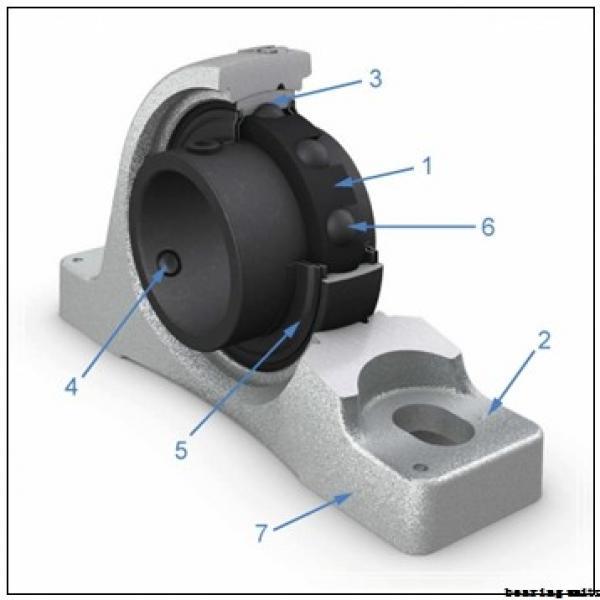 45 mm x 16 mm x 35 mm  NKE PTUEY45 bearing units #3 image