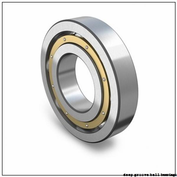 1 mm x 4 mm x 1,6 mm  ISO 619/1 deep groove ball bearings #1 image